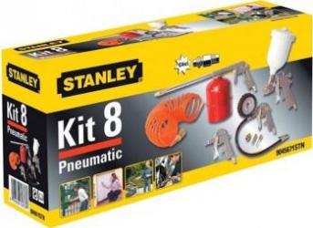 Set 8 Piese Stanley Accesorii Compresor