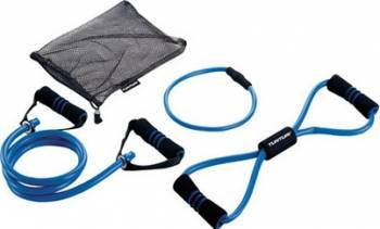 Set benzi rezistenta yoga Tunturi 11TOSYO009 Extensoare si benzi elastice