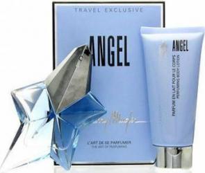 Set Cadou Apa De Parfum 50ml Angel Lotiune De Corp 100ml By