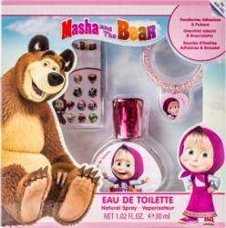 Set cadou Disney Masha and The Bear Eau de Toilette 30ml + Earrings + Bracelet Seturi Cadou