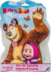 Set cadou Disney Masha and The Bear Eau de Toilette 9.5ml + Stickers + Bookmark Seturi Cadou
