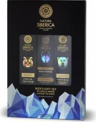 Set Cadou Natura Siberica pentru Barbati Sampon Gel de dus Crema fata Seturi Cadou