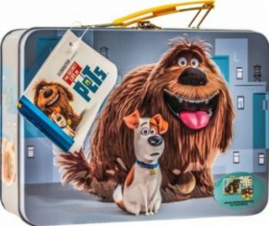 Set cadou Universal The Secret Life of Pets Carry-All Embossed Tin Seturi Cadou
