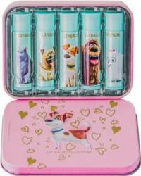 Set cadou Universal The Secret Life of Pets Max Lip Balm Kit Seturi Cadou