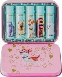 Set cadou Universal The Secret Life of Pets Max Lip Balm Kit Seturi Cadou