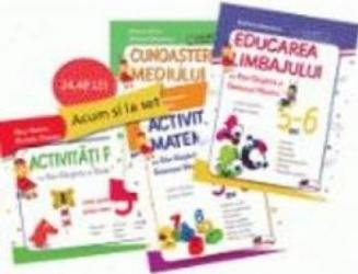 Set caiete gradinita 5-6 ani - Stefania Antonovici Rita-Gargarita si Greierasul Albastru