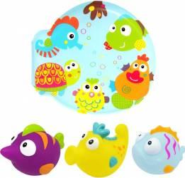 Set carticica si 3 jucarii de baie Lumea Subacvatica ESCABBO 37040 Cadite, prosoape si accesorii baie