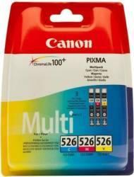 Set Cartus Canon CLI-526 CMY Cartuse Tonere Diverse