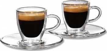 Set cesti sticla espresso Tchibo 2 x 55ml Accesorii Espressoare