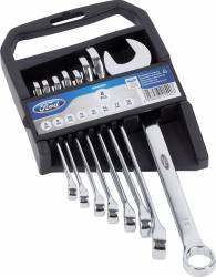 Set chei fixe si inelare 8 piese Ford Tools Scule de mana