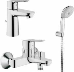 Set complet baterii baie Grohe BauEdge set dus porter-GRO112925 Baterii sanitare