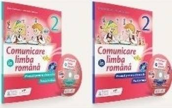 Set comunicare in limba romana - Clasa 2 - Partea I+partea II + CD - Iliana Dumitrescu Nicoleta Ciobanu