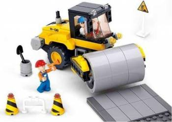 Set constructie Compactor asfalt Sluban 171 piese Multicolor Lego
