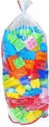 Set constructie Jumbo 153 piese Polesie Puzzle si Lego