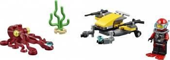 Set Constructie Lego City Scuter De Scafandru Lego