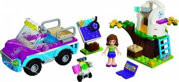 Set Constructie Lego Friends Masina De Explorari A Oliviei