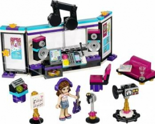 Set Constructie Lego Friends Studioul De Inregistrari Al Vedetei Pop