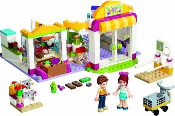 Set Constructie Lego Friends Supermarketul Heartlake Puzzle si Lego