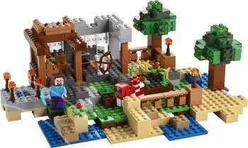 Set Constructie Lego Minecraft Cutie De Crafting