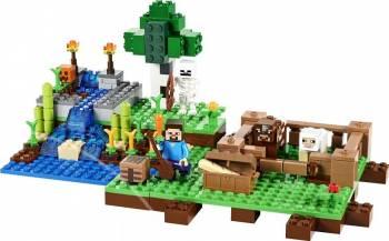 Set Constructie Lego Minecraft Ferma