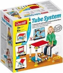 Set constructie tubular Quercetti pentru copii transformabil Lego
