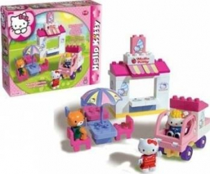 Set constructie Unico Plus Hello Kitty Gelaterie Seturi de constructie