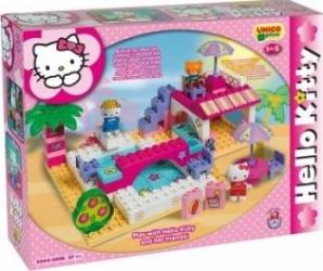 Set constructie Unico Plus Hello Kitty La piscina Lego