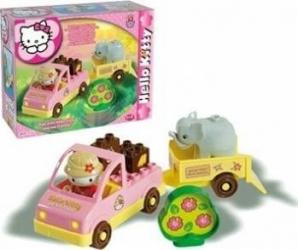 Set constructie Unico Plus Hello Kitty Mini Safari Seturi de constructie