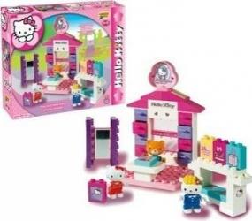 Set constructie Unico Plus Hello Kitty Minimarket Seturi de constructie