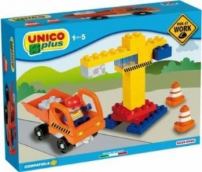 Set constructie Unico Plus Santier Lego