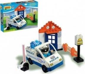 Set constructie Unico Plus Set Politie Seturi de constructie