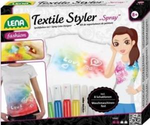 Set creatie modele pentru textile sprayuri cu pulverizare Jucarii