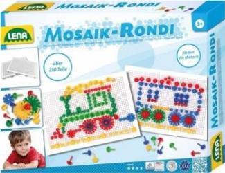 Set creatie mozaic si rondi 250 piese Jucarii