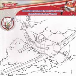 Set Creativ Desen Cu Markere Wo Planes