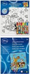 Set Creativ Desen Cu Puzzle Si Carioci Wo Bambi