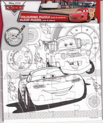 Set Creativ Desen Cu Puzzle Si Carioci Wo Cars
