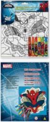 Set Creativ Desen Cu Puzzle Si Carioci Wo Spiderman