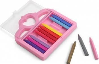Set creioane colorate triunghiulare Princess Melissa and Doug 12 buc Rechizite