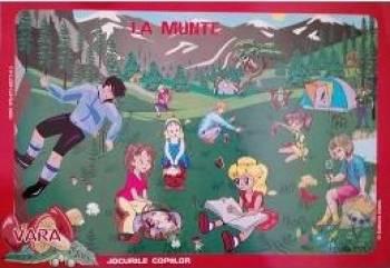 Set cu planse Vara jocurile copiilor - Eleonora Negru