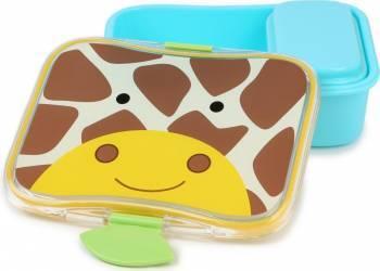 Set cutii pentru gustare SKIP HOP Girafa Alimentatie