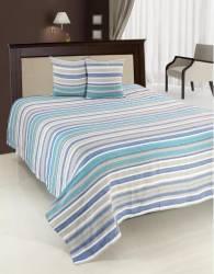 Set Cuvertura Pat Dublu Heinner Home 200X220CM Blue Cuverturi & Paturi