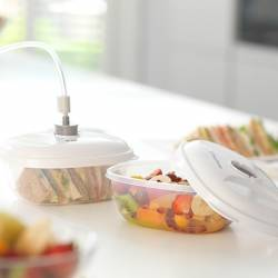 Set de 3 caserole FoodSaver T020-00024-I Aparate de vidat si Accesorii