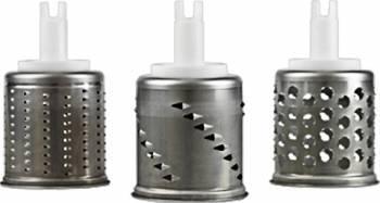 Set de 3 extra tamburi pentru razatoare de legume Ankarsrum