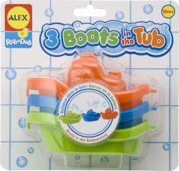 Set de barcute pentru baie Alex Toys Jucarii Bebelusi