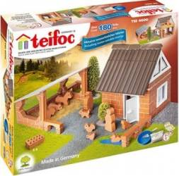 Set de constructie Teifoc Farm Jucarii