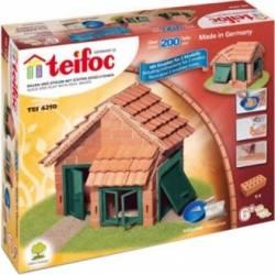 Set de constructie Teifoc House With Garage Jucarii