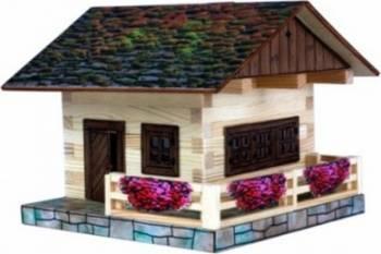 Set de constructie Walachia Alpina Chalet Puzzle si Lego