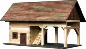 Set de constructie Walachia Barn Puzzle si Lego