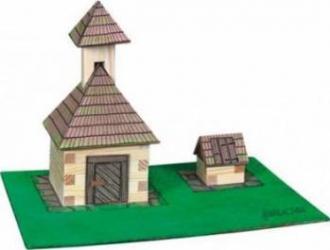 Set de constructie Walachia Bell and Fountain Puzzle si Lego