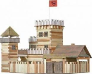 Set de constructie Walachia Big Castle Puzzle si Lego